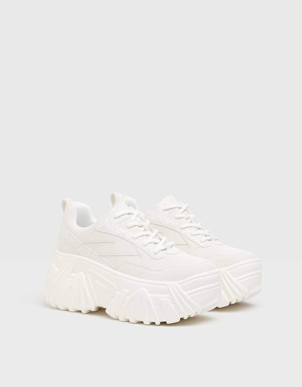 Reflective platform trainers