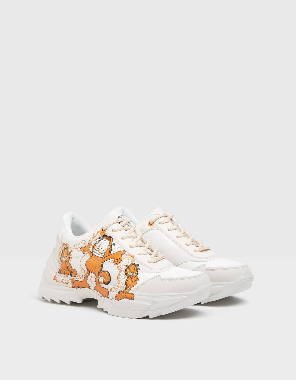 Garfield & Bershka trainers