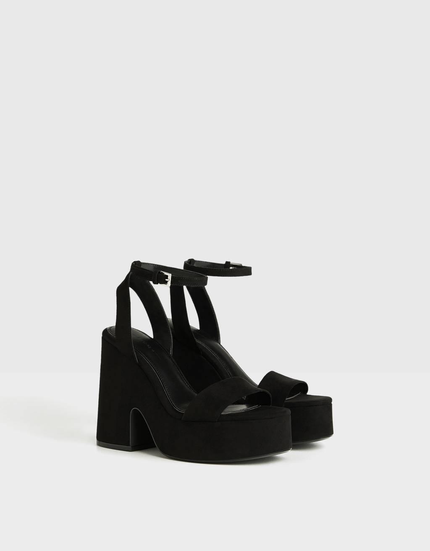 High-heel platform sandals - SALE UP TO