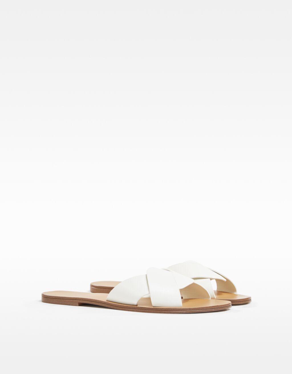 Flat criss-cross sandals