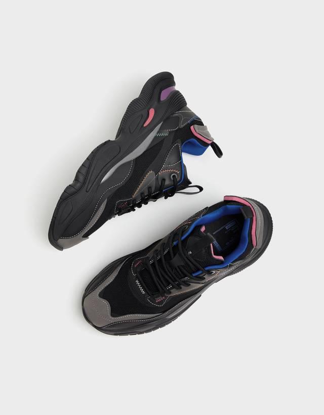 Men's mesh multi-piece trainers - Shoes