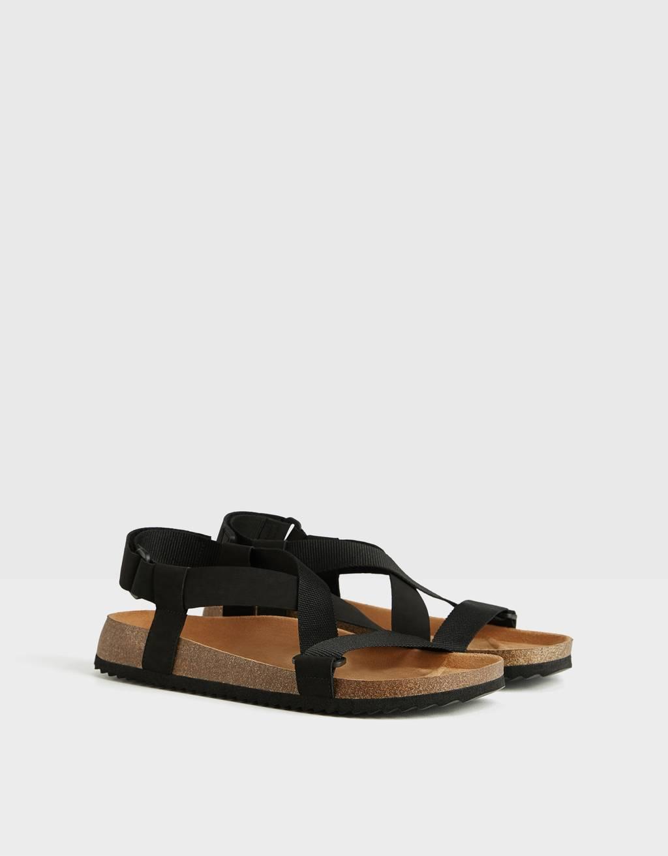 Sandaler med stropper til herrer