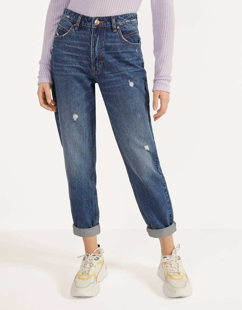 Jeans Mom Fit High Waist