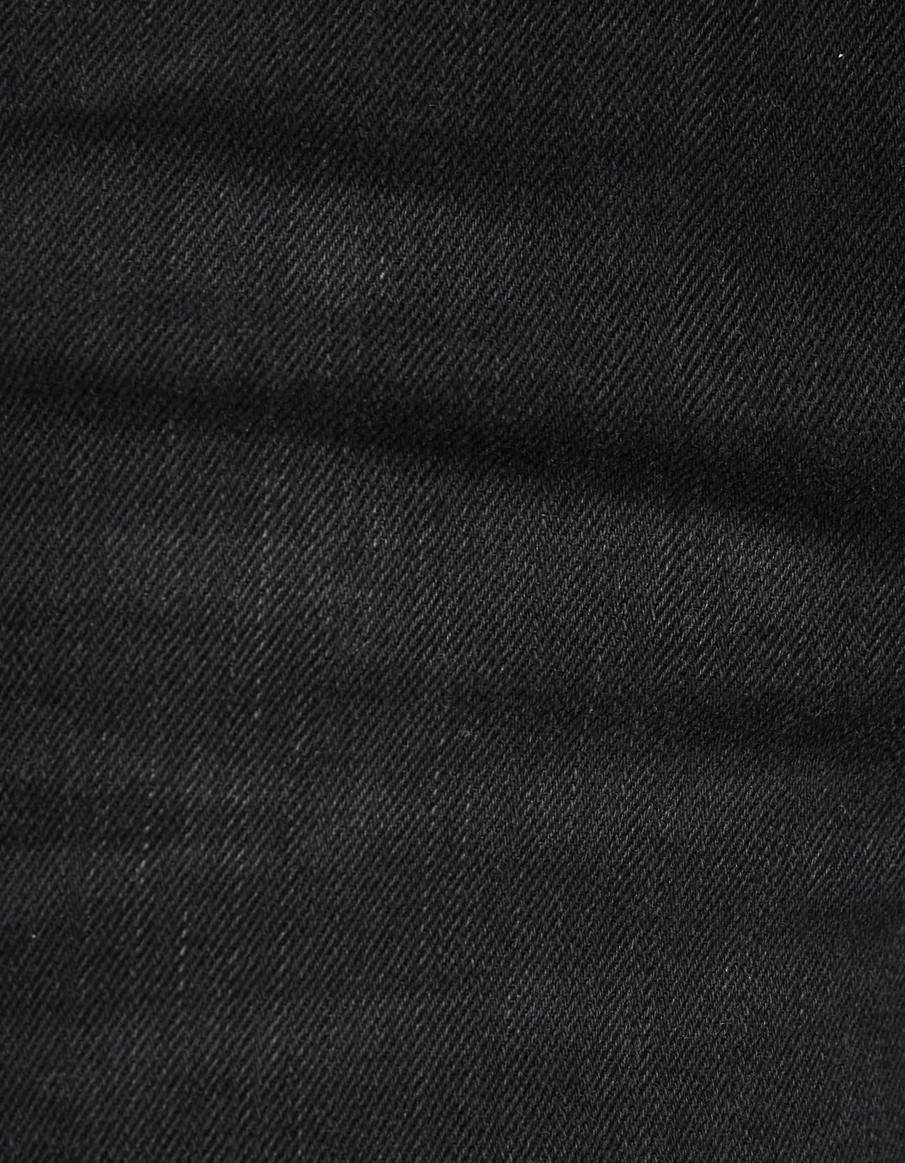Джинсы skinny с низкой посадкой и разрезами Черный Bershka