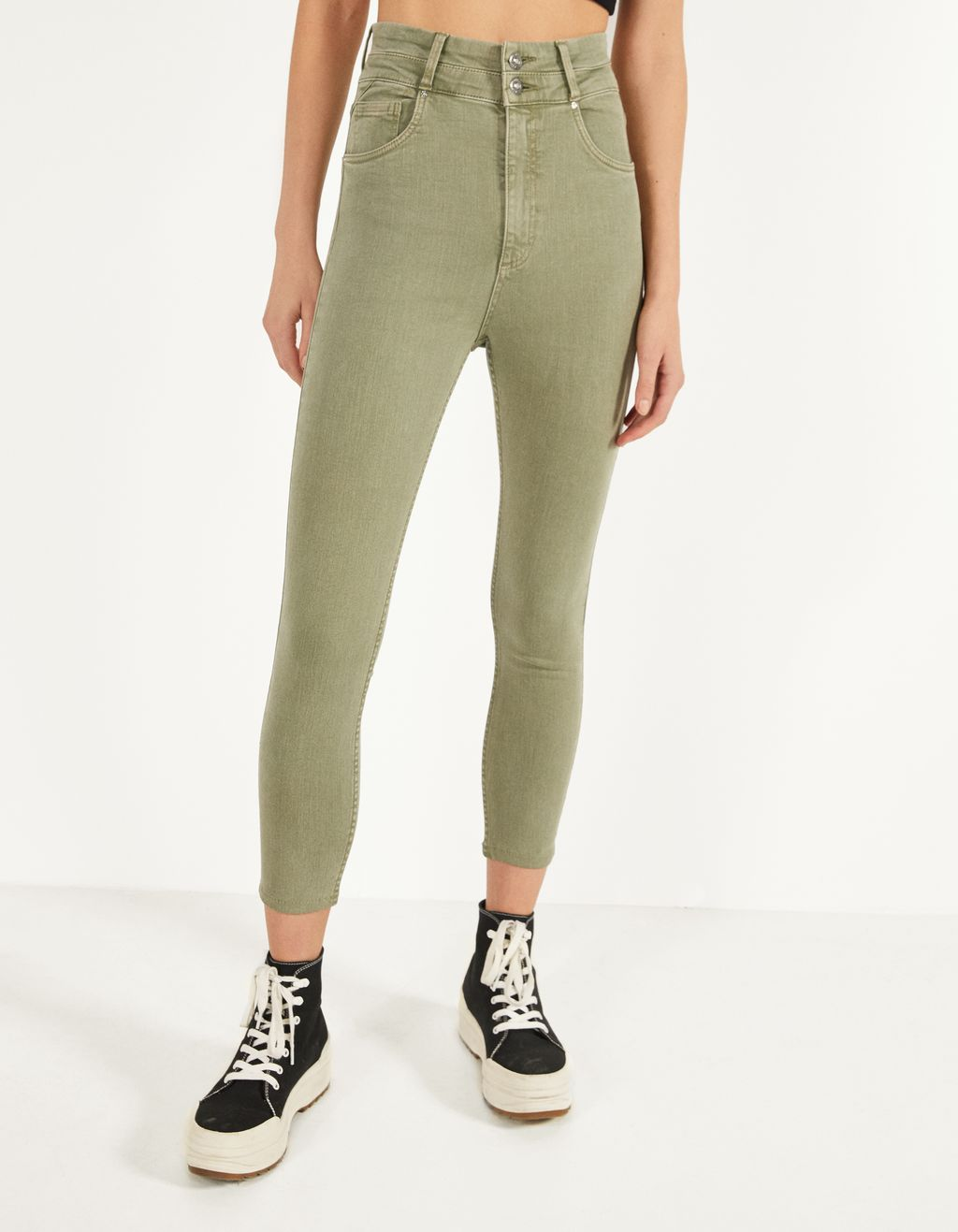 Pantaloni Super high waist