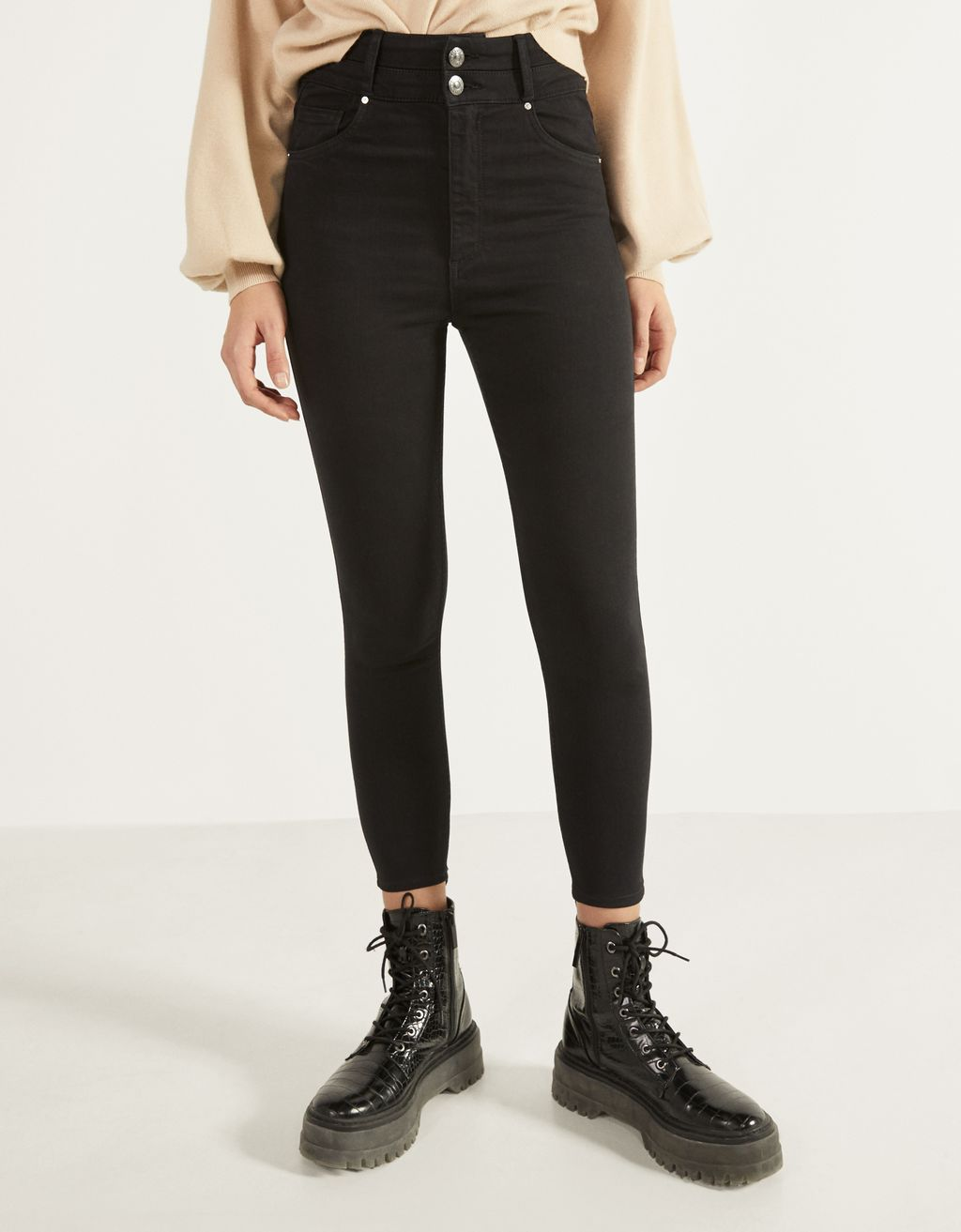 Super High Waist trousers