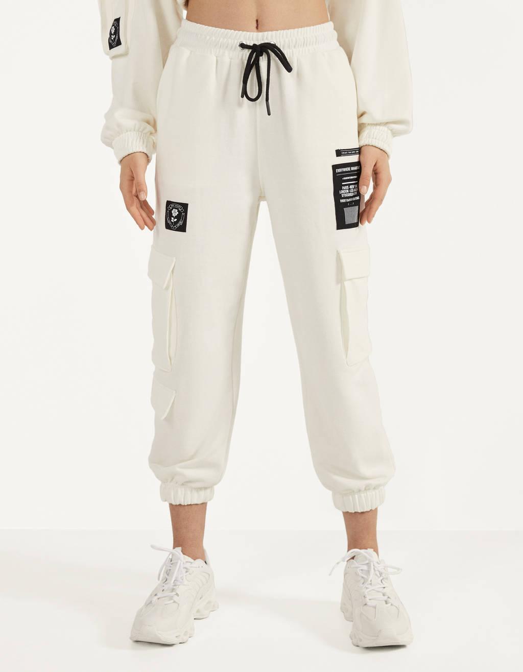 Pantalones De Chandal Mujer Bershka 64 Descuento Gigarobot Net
