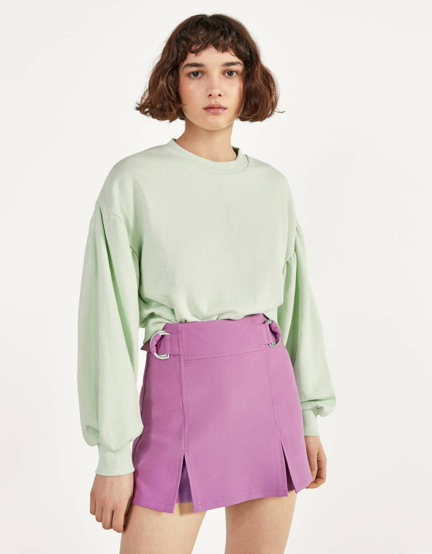 Suknja hlače s D-prstenima