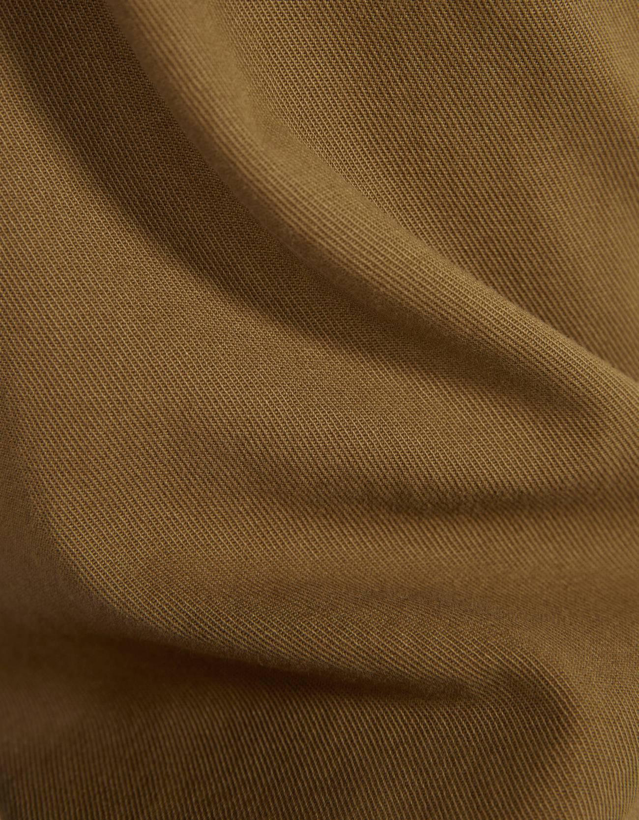 Брюки Paperbag с ремнем Зеленый Bershka