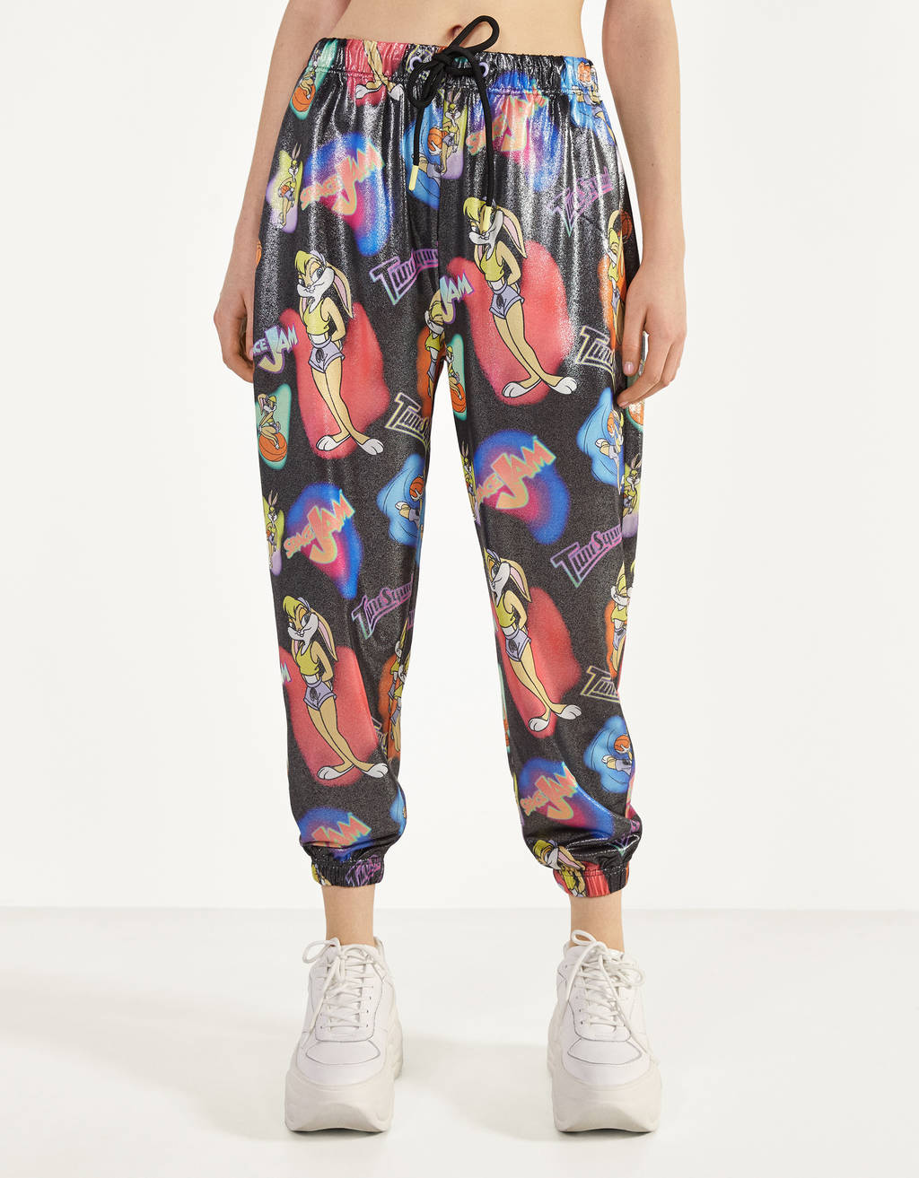 Space Jam x Bershka jogging trousers