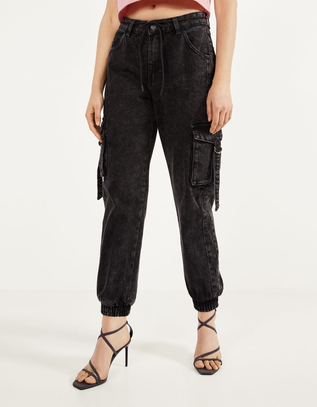 Cargo jogger jeans