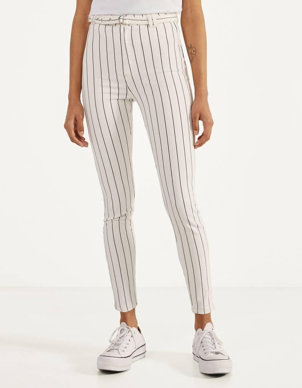 Pantalón High Waist con cinturón