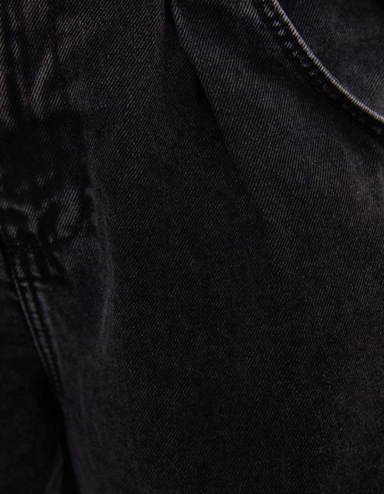 Брюки свободного кроя с эластичными манжетами Серый Bershka