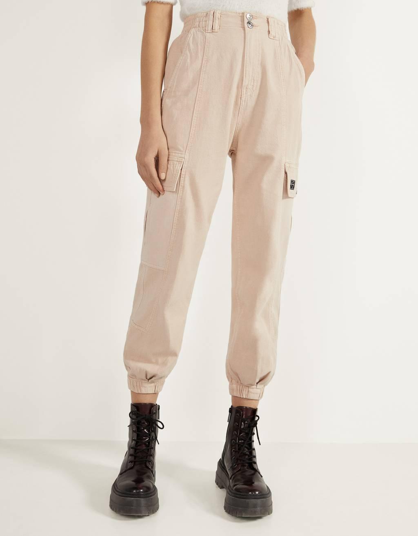 Pantaloni jogger militari