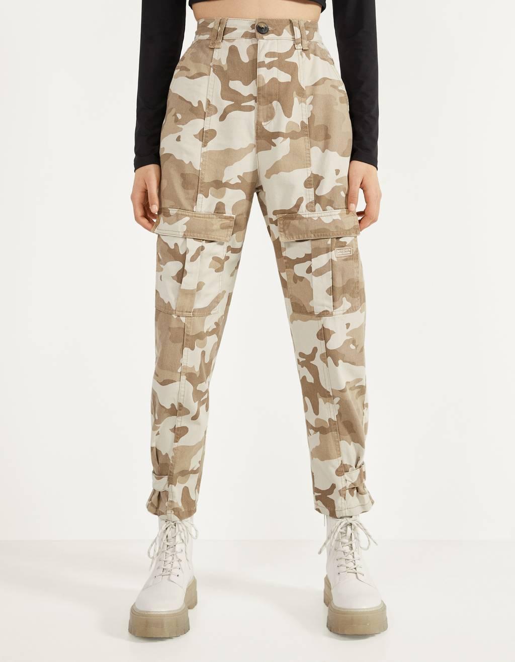 Vojaške cargo hlače