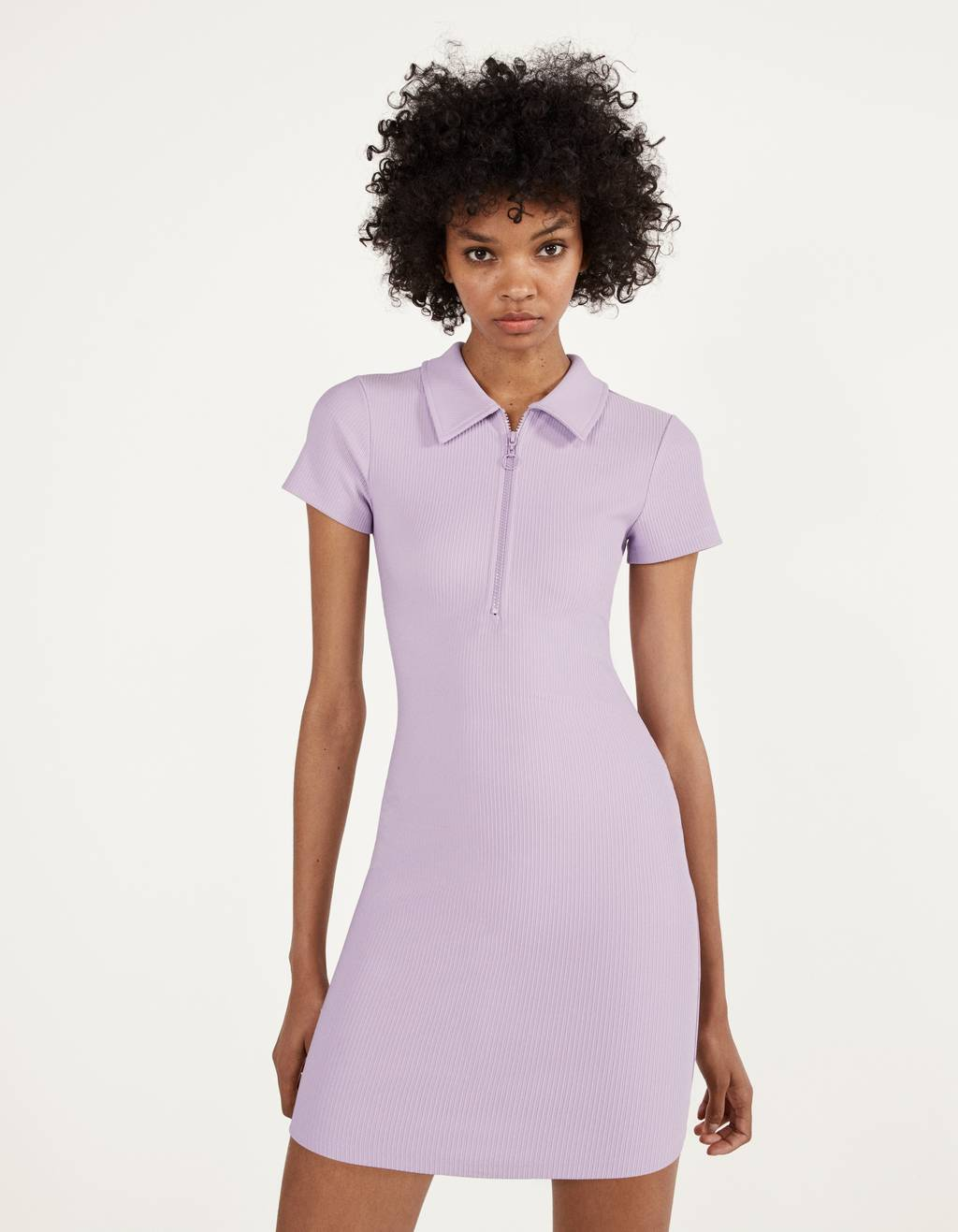 Short polo-style dress