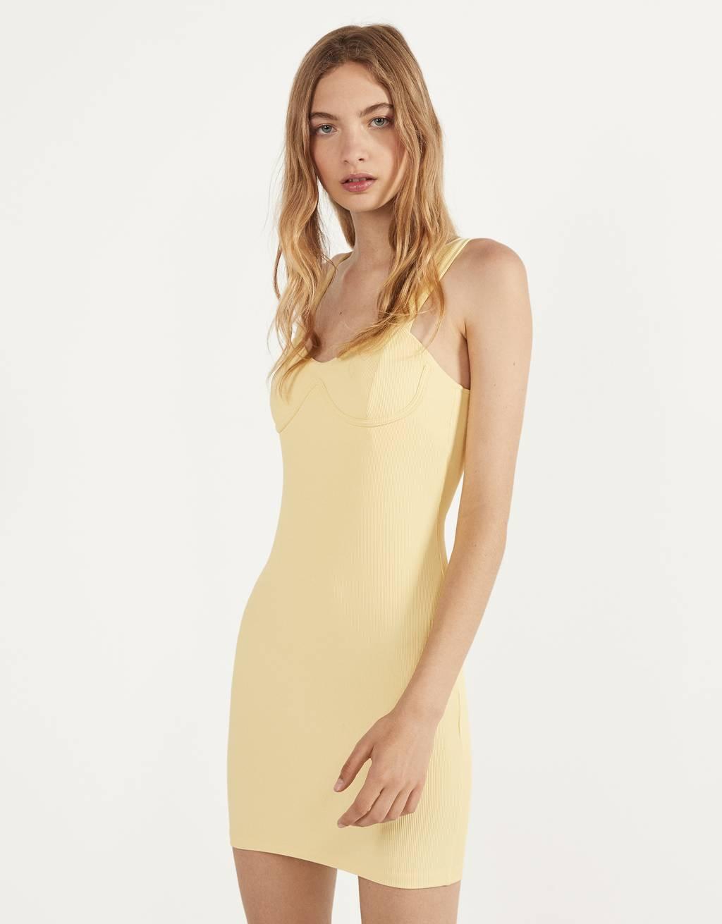 Short bralette-style dress