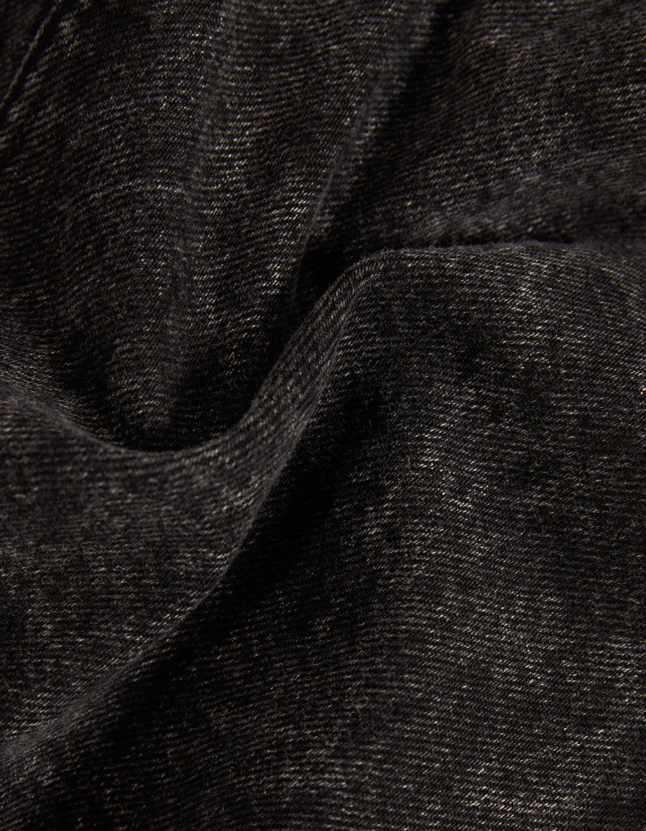 Джинсовая юбка миди Черный Bershka
