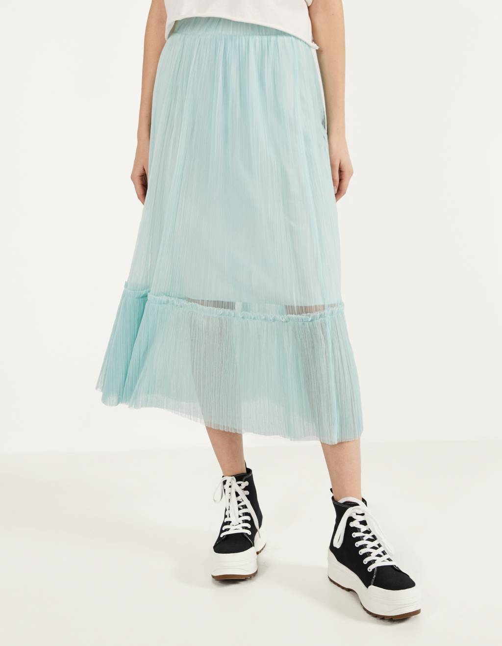 Gonna midi in tulle
