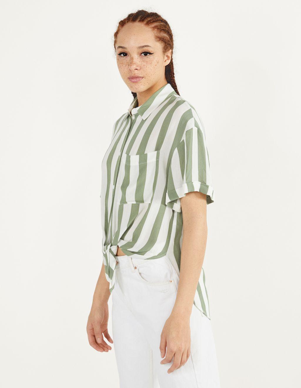 Uzun düğümlü gömlek
