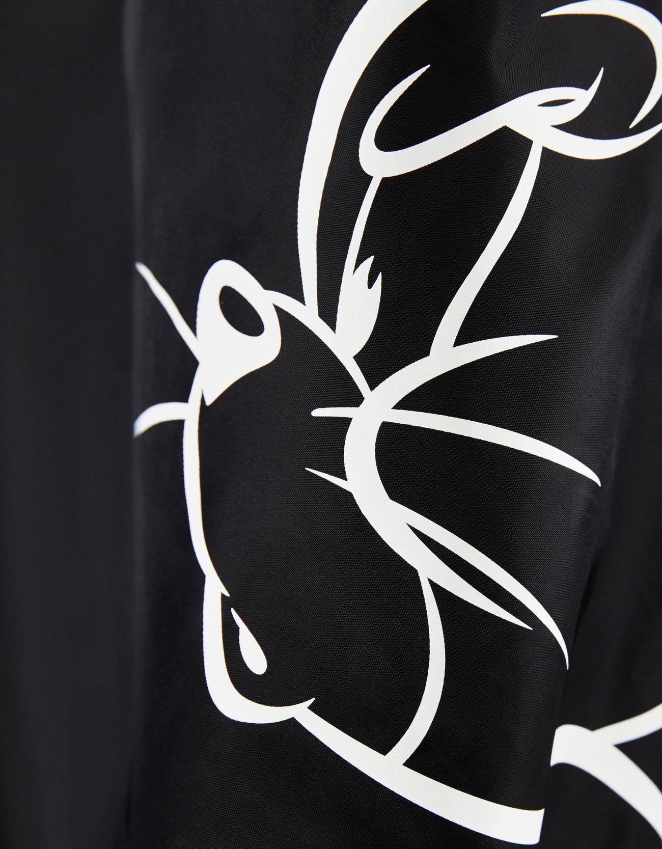 Бомбер с принтом «Том и Джерри» Черный Bershka