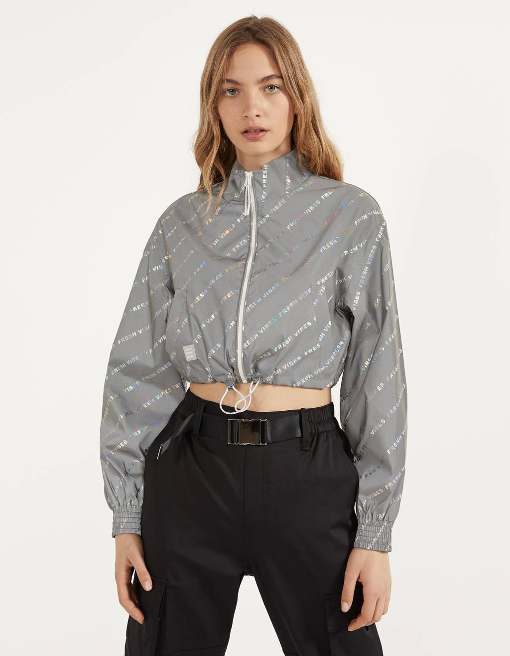 Reflektirajuća kratka jakna