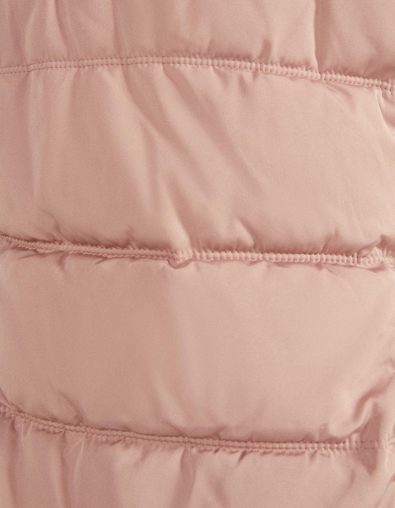 Дутая куртка с капюшоном Розовый Bershka