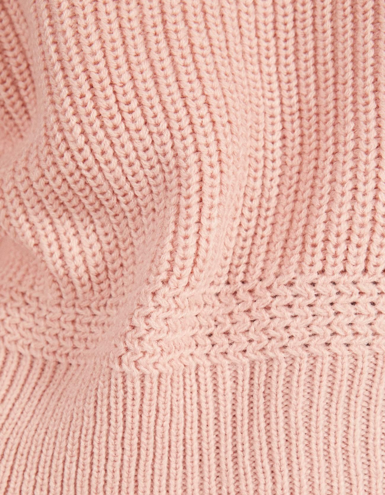 Свитер с круглым вырезом Розовый Bershka