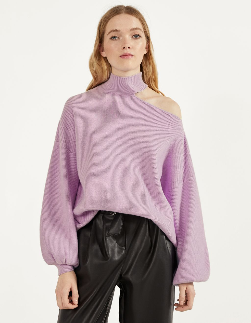 Asymmetrisk sweater