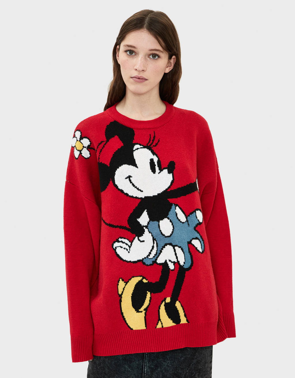 Oversized Mickey Mouse sweater