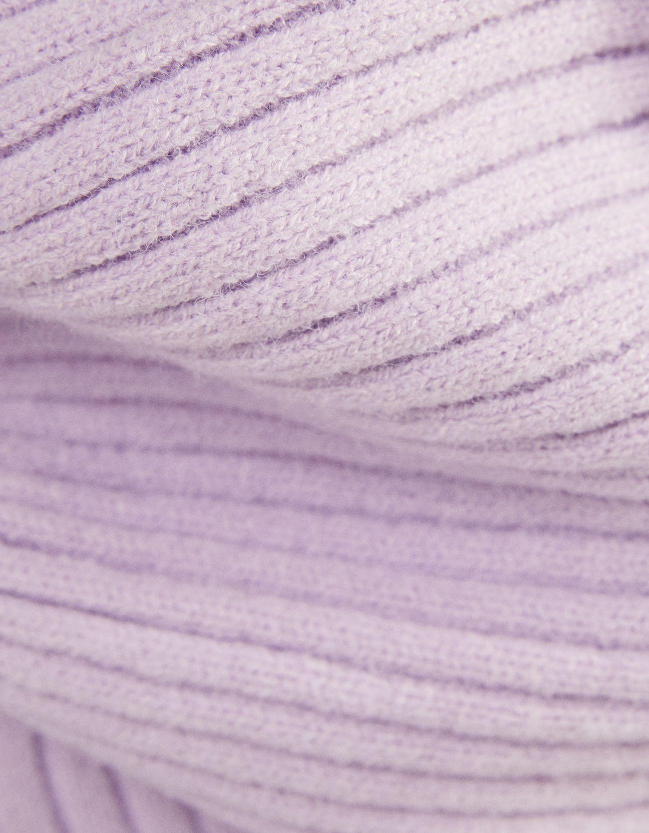 Свитер с капюшоном Фиолетовый Bershka