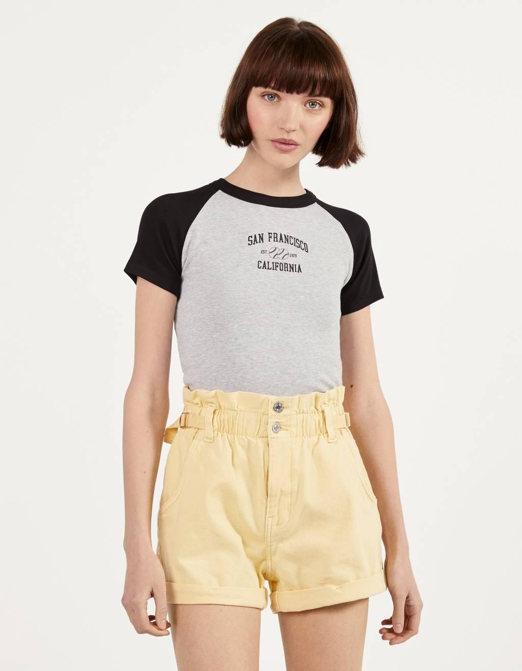 Μπλούζα με μανίκια ρεγκλάν