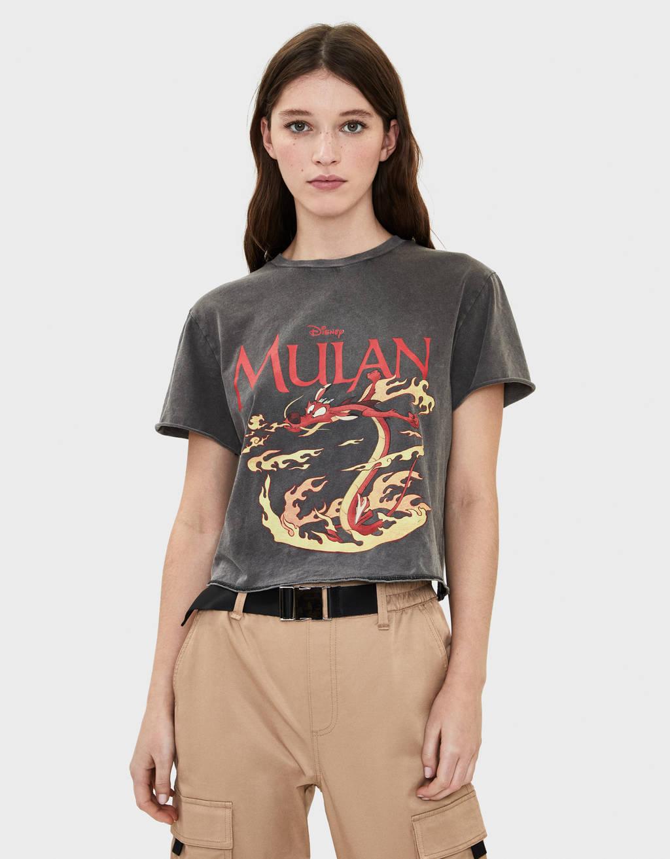 """Marškinėliai su """"Mulan"""" motyvais"""