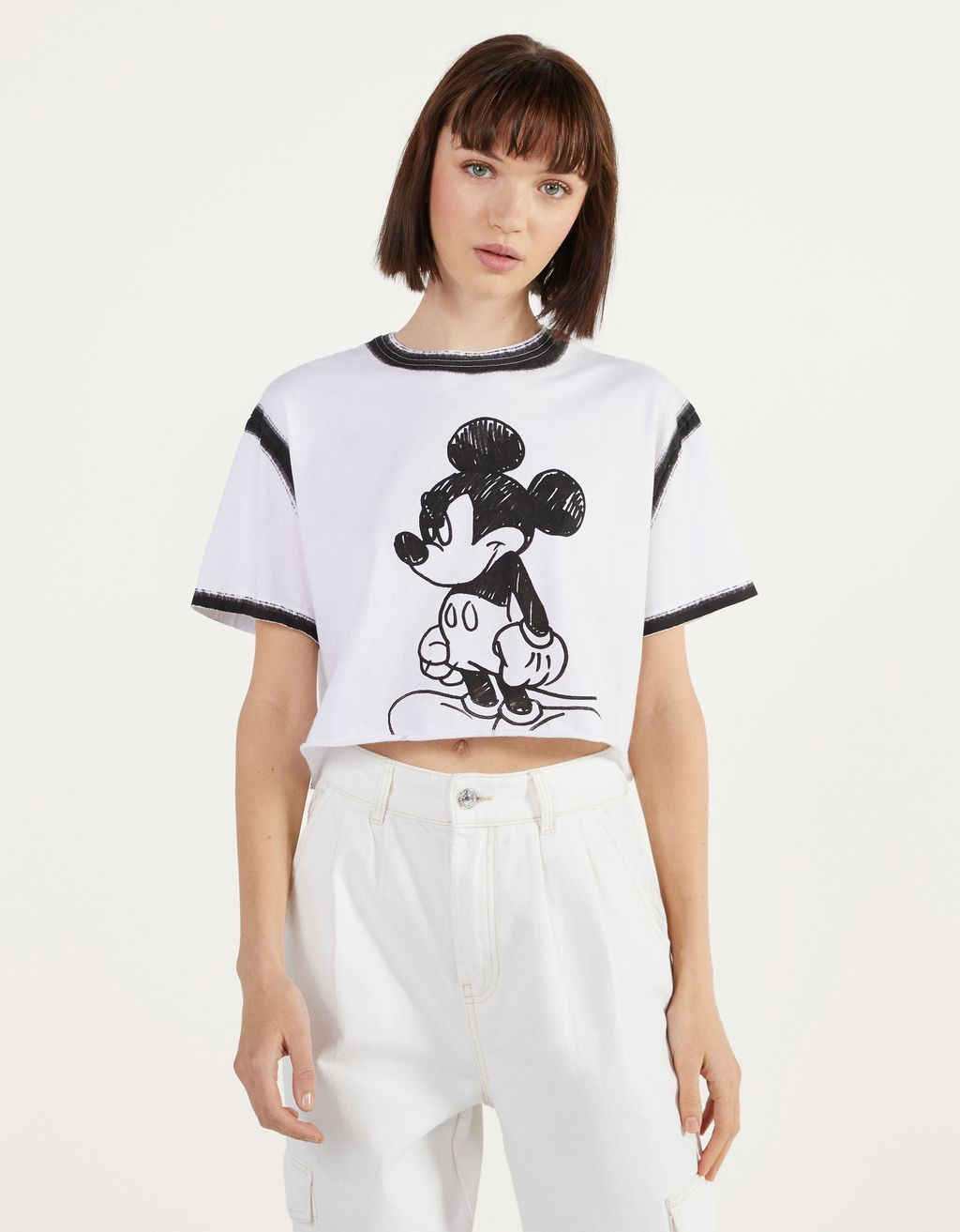 Футболка «Mickey gets arty»
