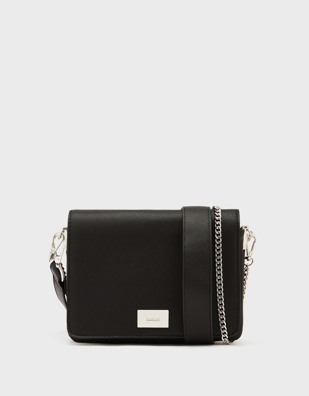 Handbag with chain strap