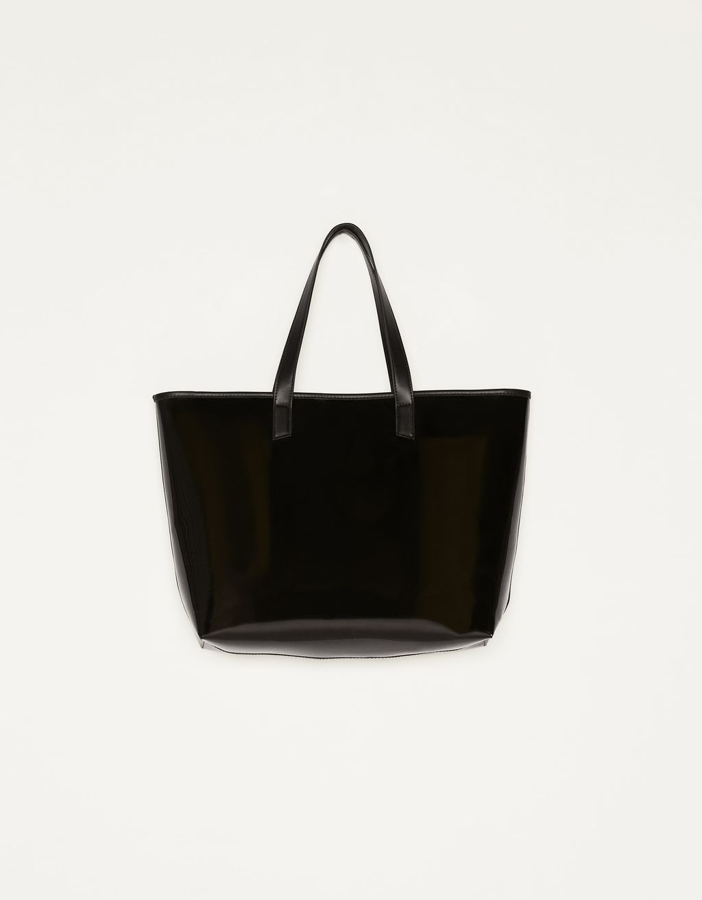 Semi-sheer tote bag