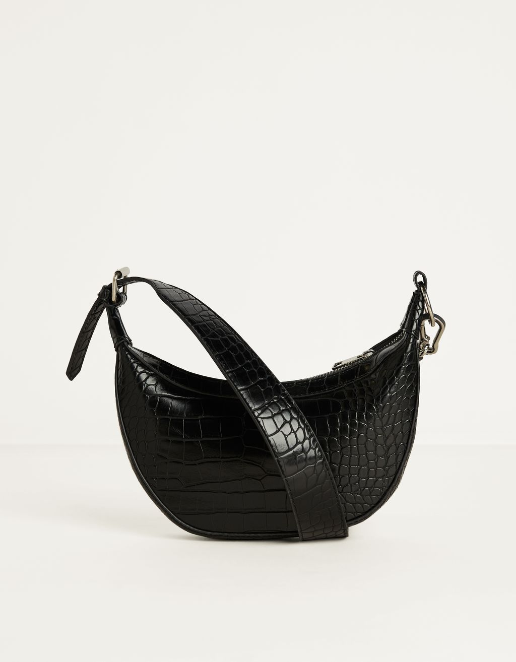 Sac en similicuir imitation croco