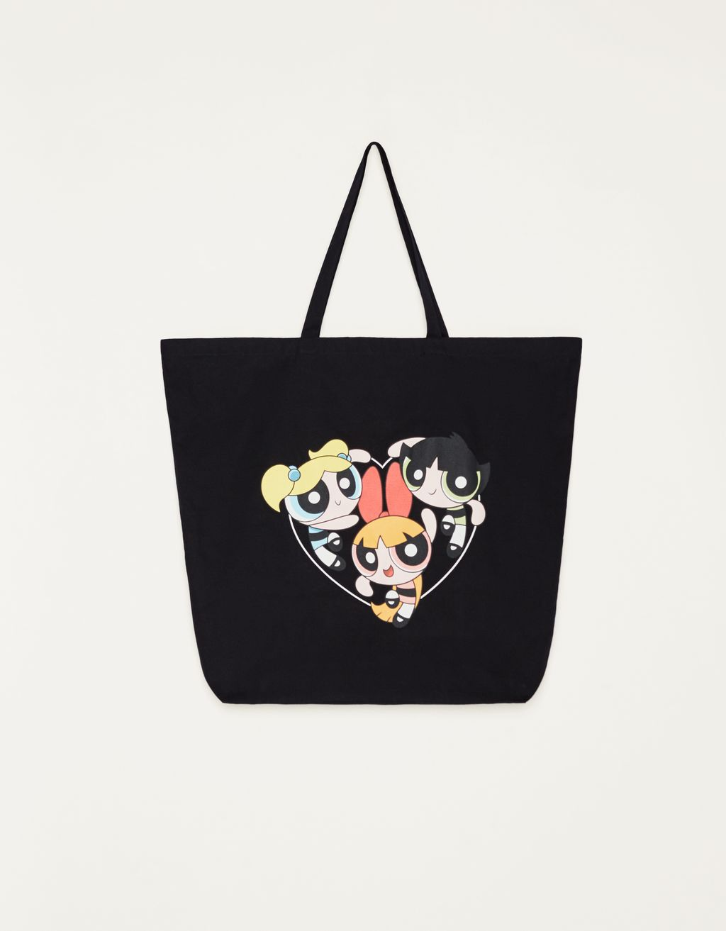 The Powerpuff Girls x Bershka tote