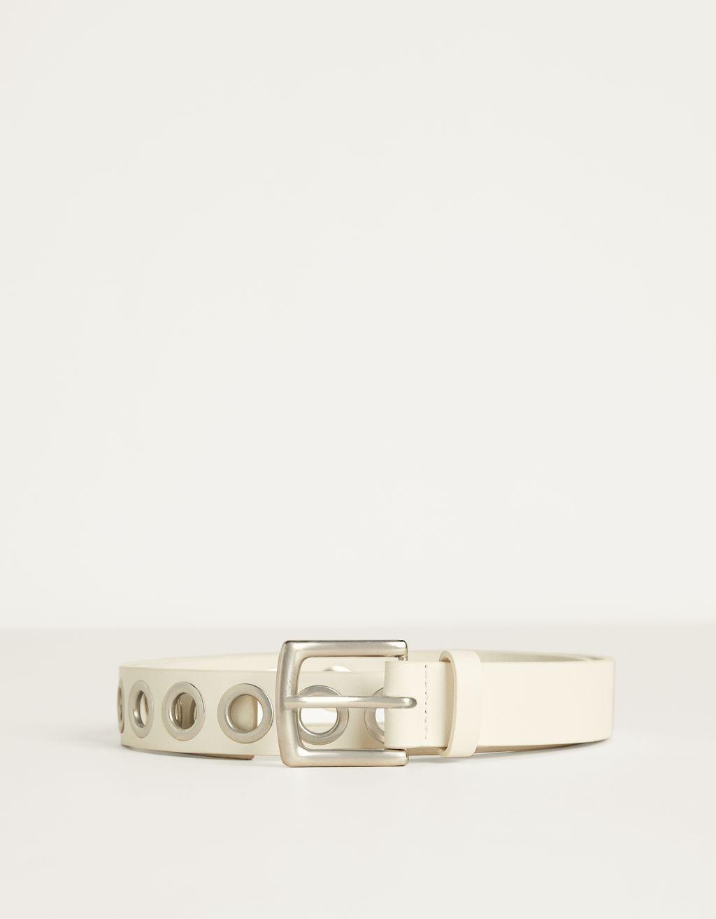 Cinturó amb eyelets