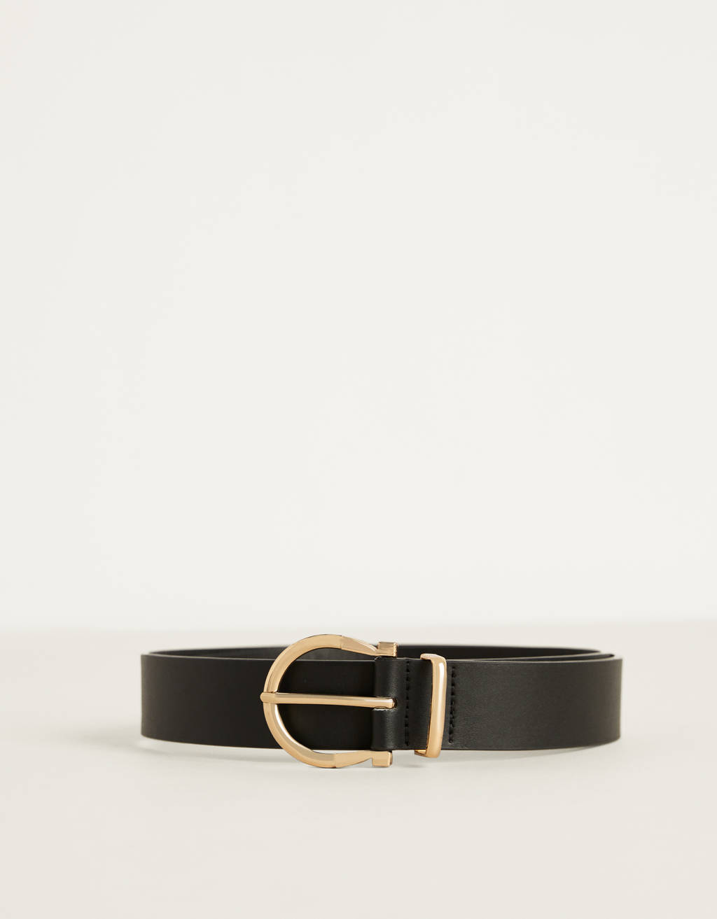 Buckled belt
