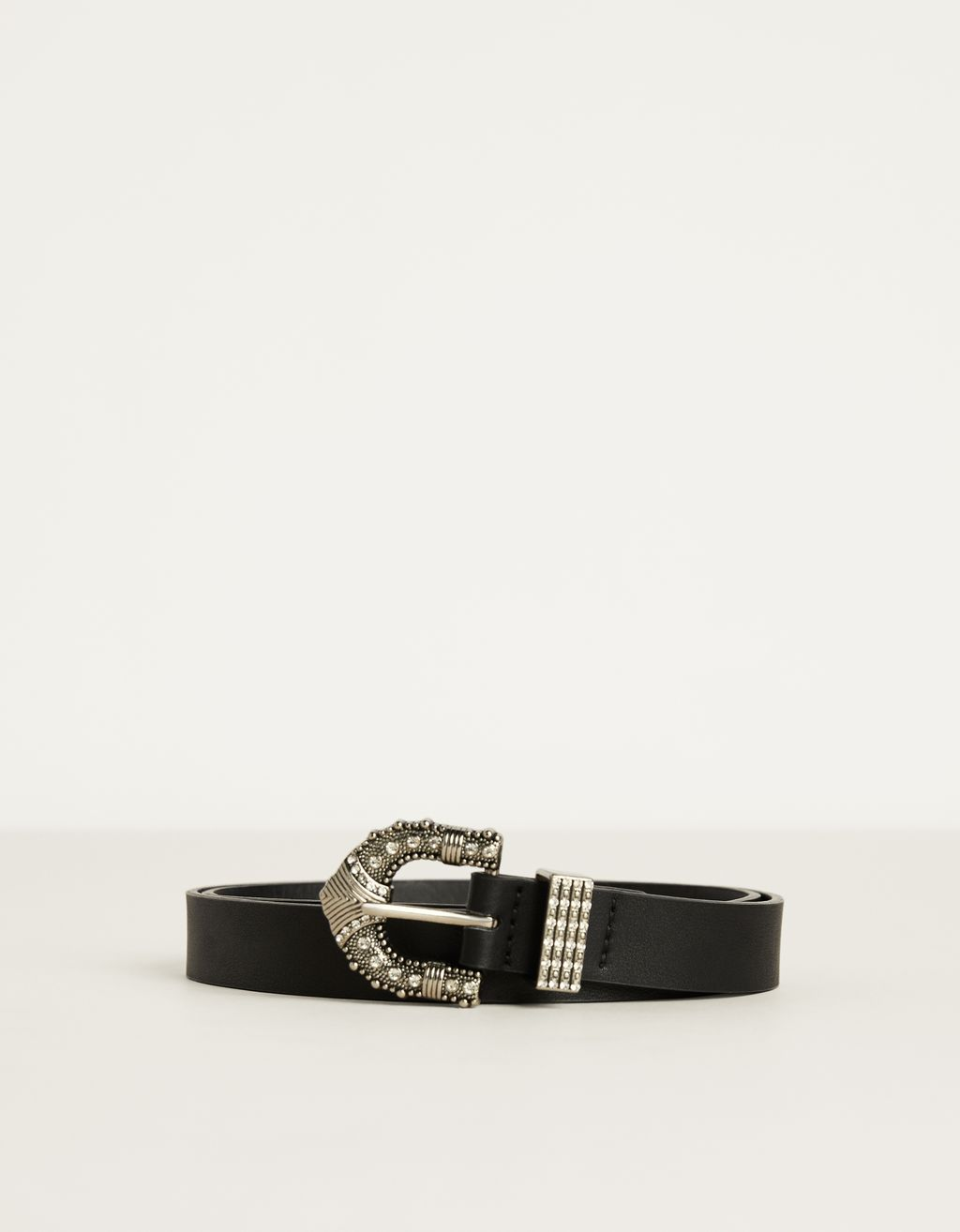 Cowboy belt with rhinestone details