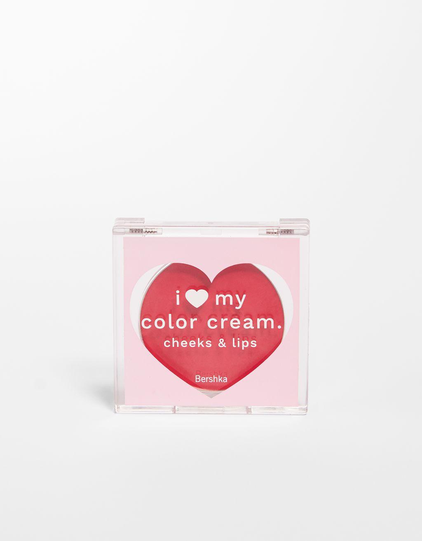 I ❤ MY COLOR CREAM RED ROMANCE