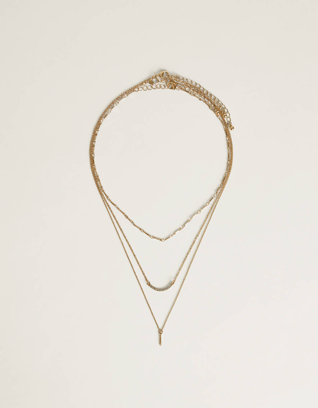 Collier multiple scintillant