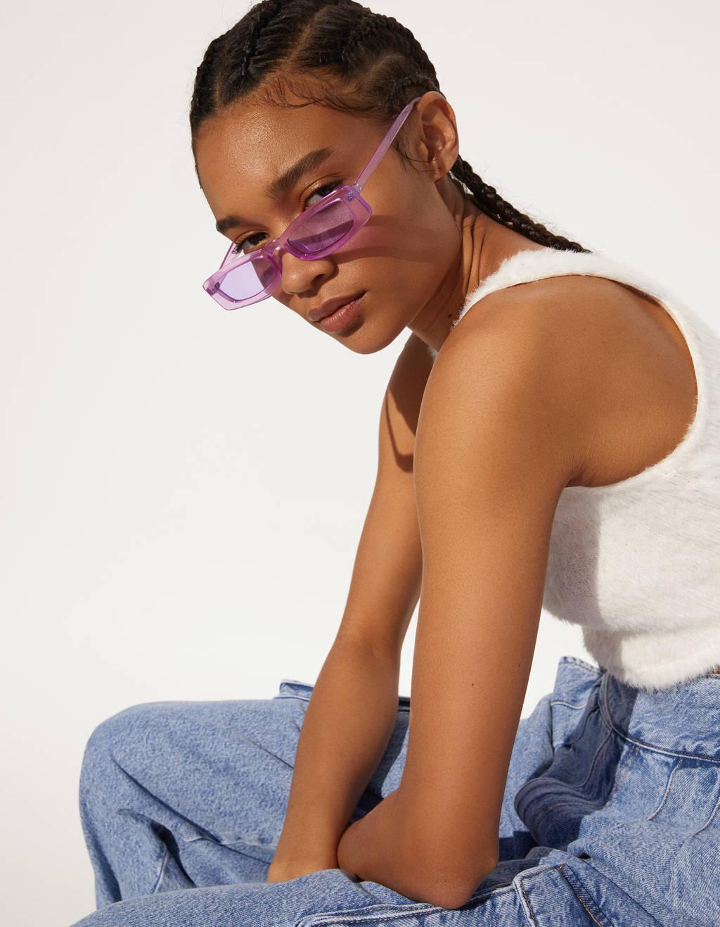Firkantede solbriller