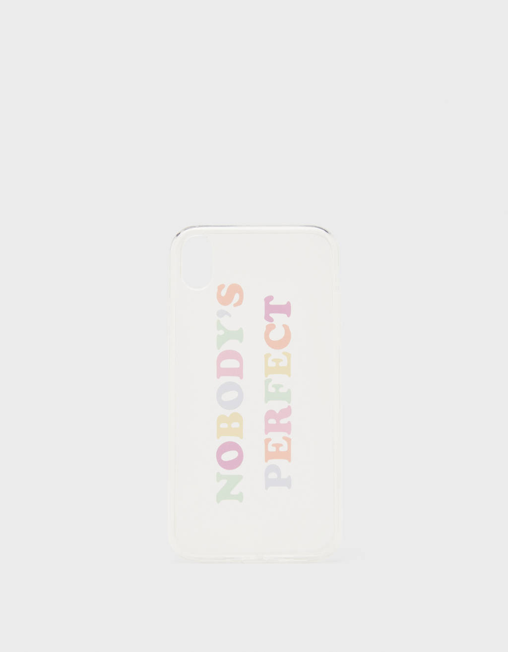 Slogan iPhone XR case