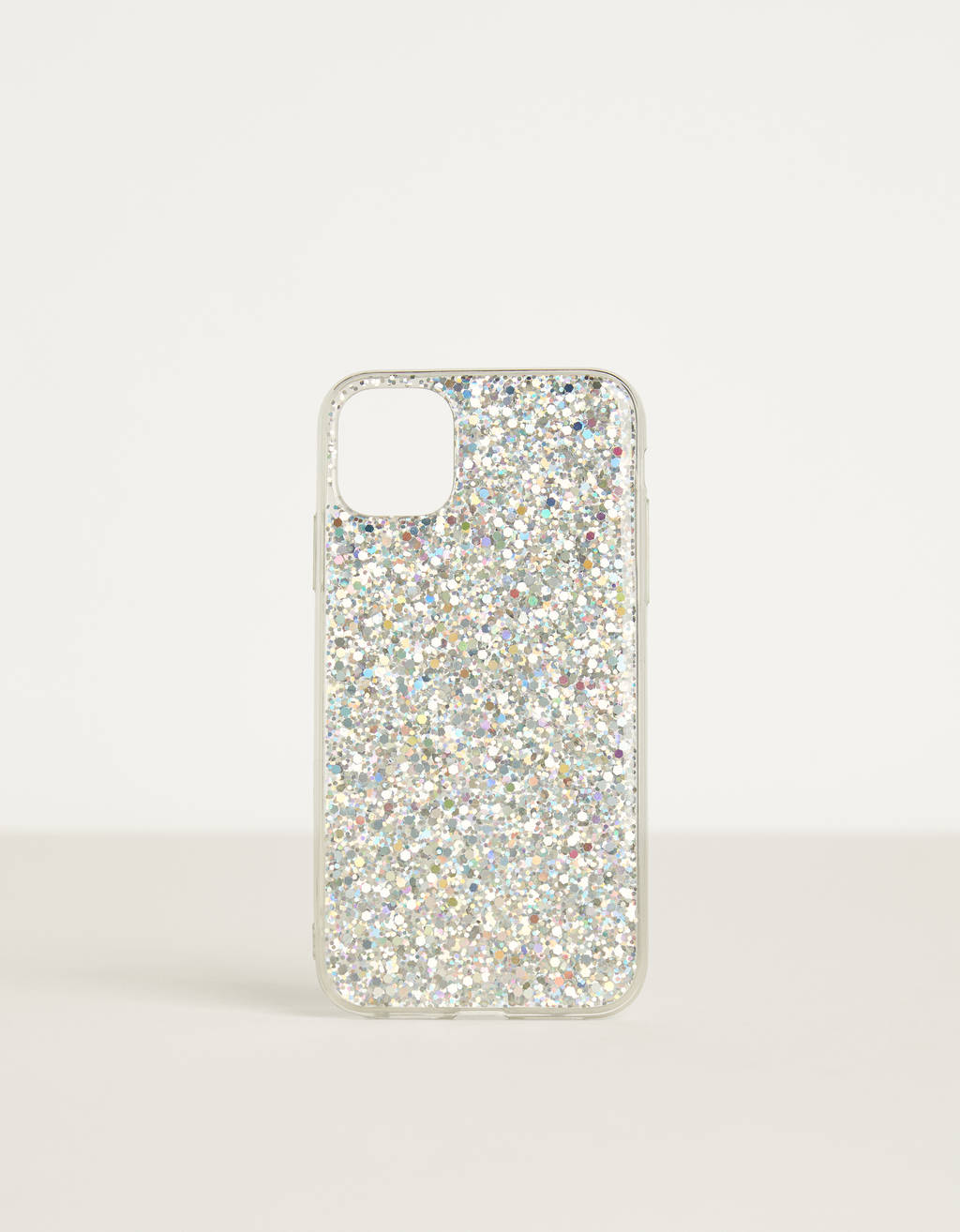 Cover til iPhone 11 med glimmer