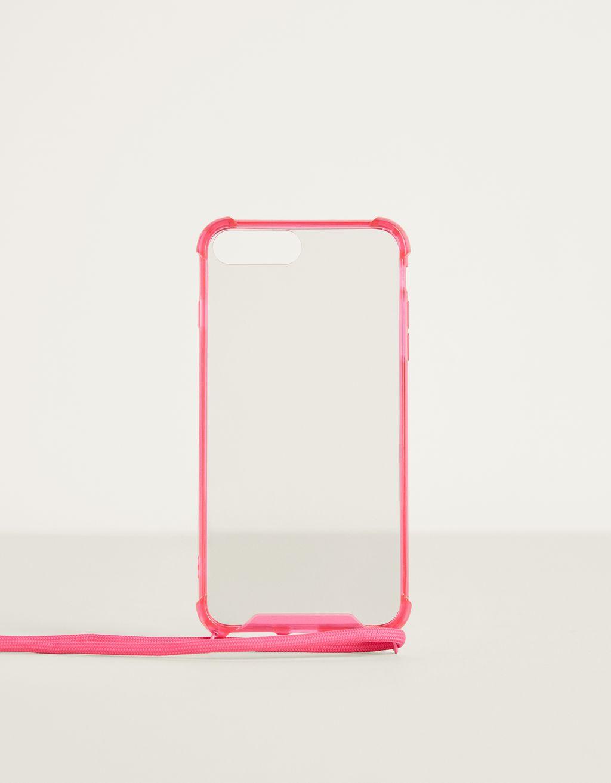 iPhone 6Plus / 7Plus / 8Plus case with cord
