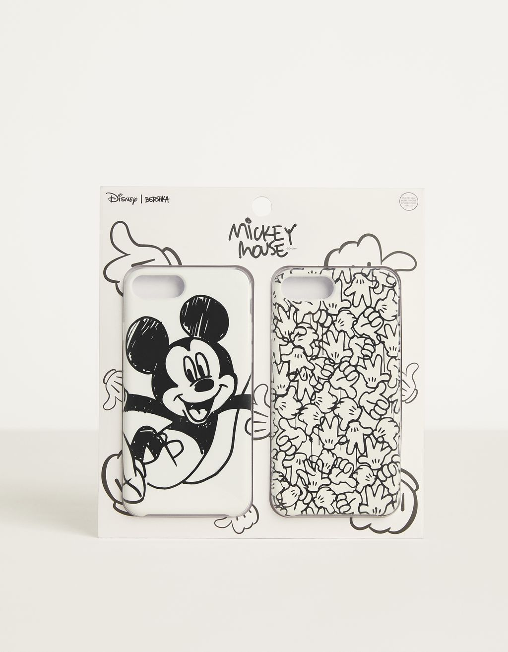 "Hoesje voor iPhone 6 Plus / 7 Plus / 8 Plus ""Mickey gets arty"""