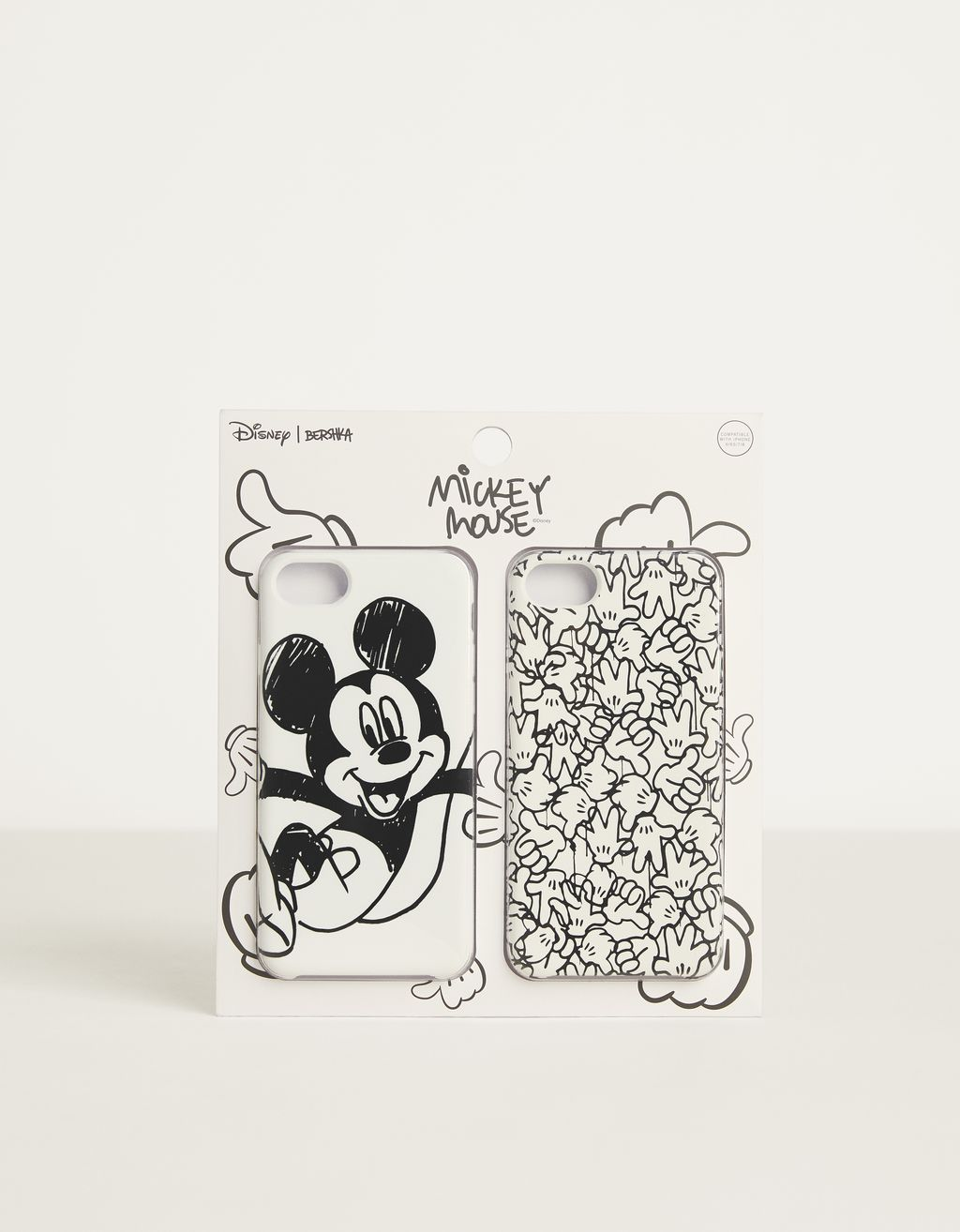 "Hoesje voor iPhone 6/6S/7/8 ""Mickey gets arty"""