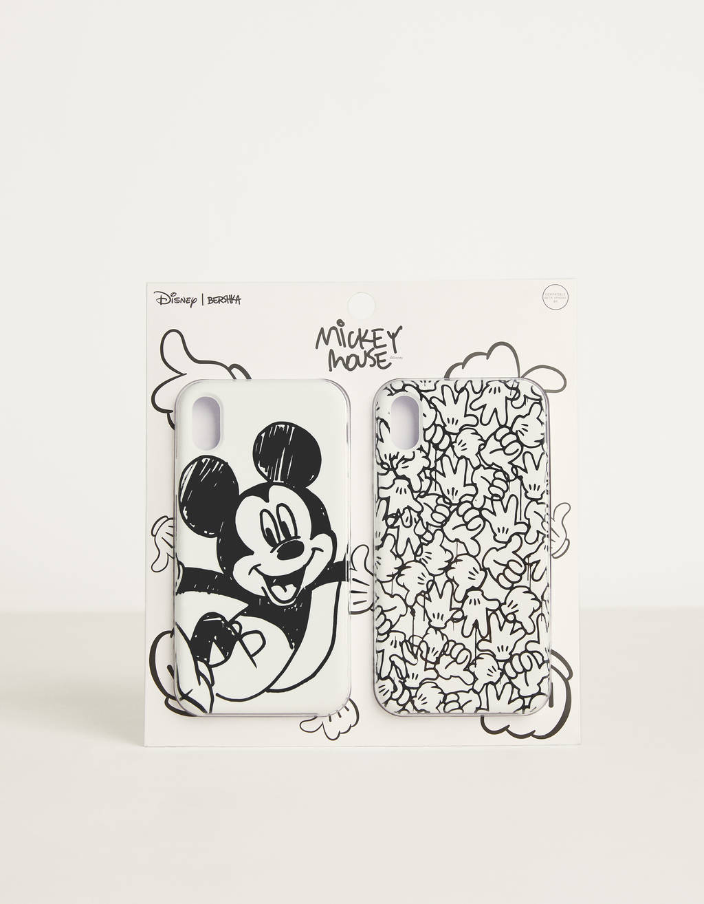 "iPhone XR 8 vāciņš ""Mickey gets arty"""